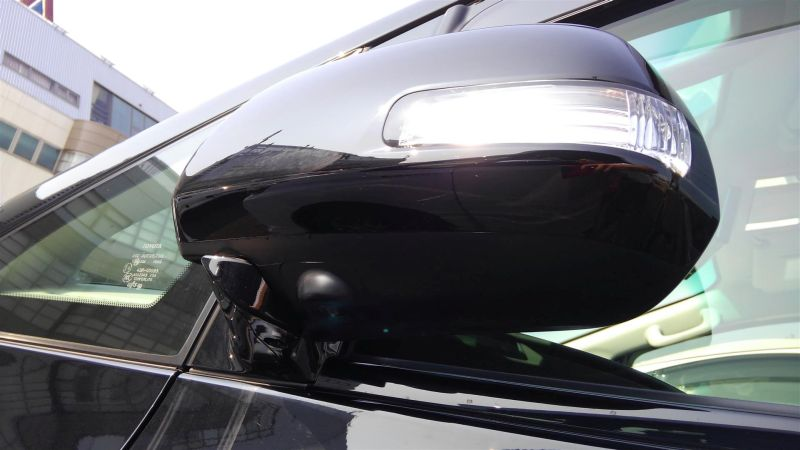 2012 Toyota Vellfire Hybrid ZR side camera