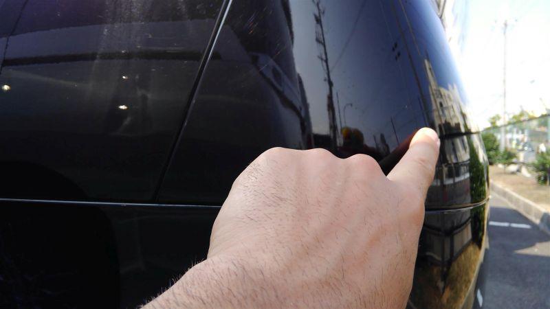 2012 Toyota Vellfire Hybrid ZR scratch 4