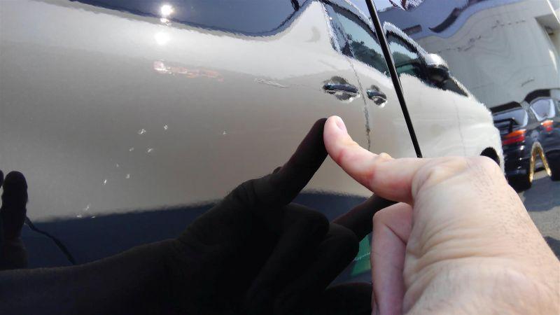 2012 Toyota Vellfire Hybrid ZR scratch 6