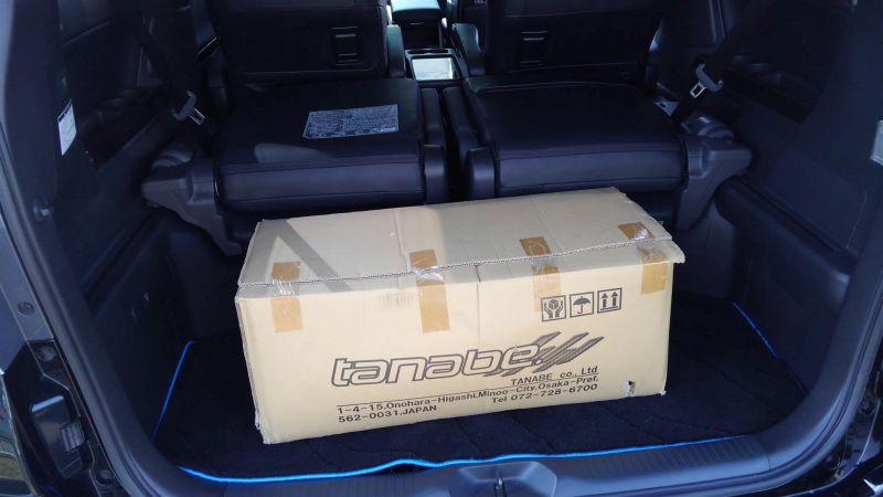 2012 Toyota Vellfire Hybrid ZR Tanabe suspension