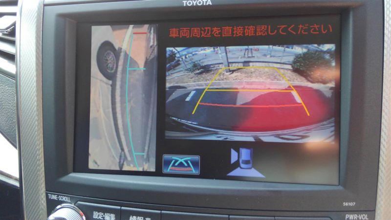 2012 Toyota Vellfire Hybrid ZR reverse camera