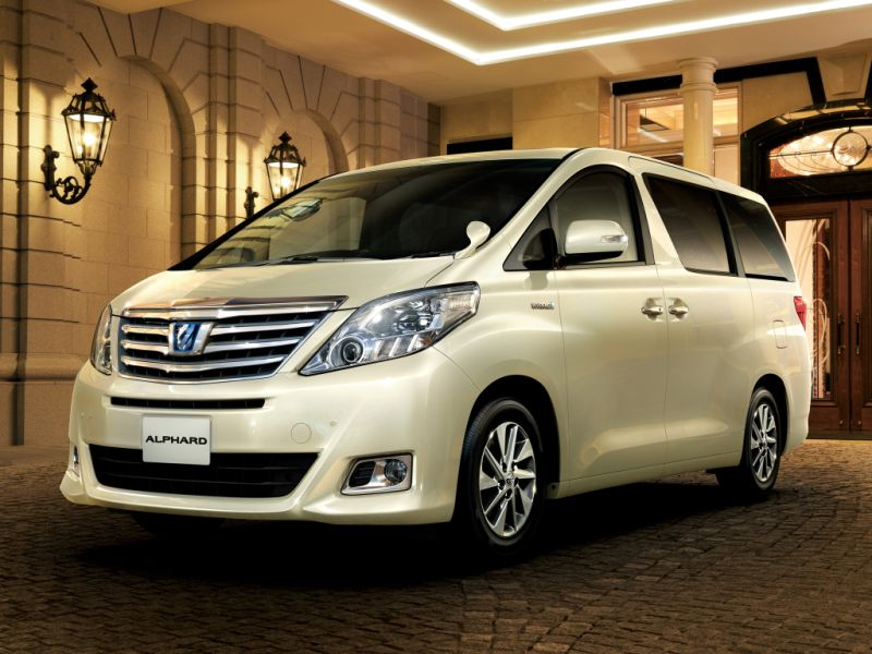 Toyota Alphard Hybrid 4WD G L Package front