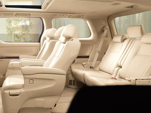 Toyota Alphard Hybrid G L Package interior 2