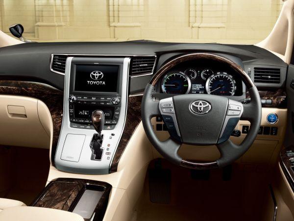 Toyota Alphard Hybrid G L Package interior