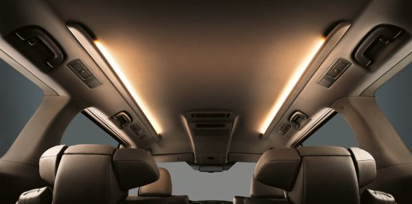 Toyota Alphard Hybrid interior lighting