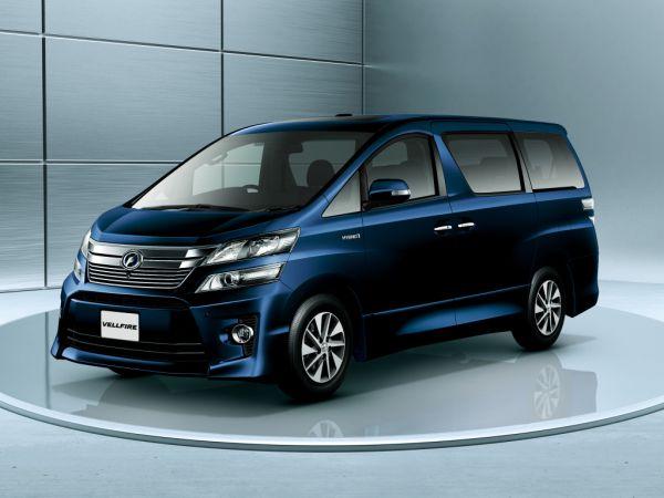 Toyota Vellfire Hybrid ZR G Edition 4WD (ATH20W) blue