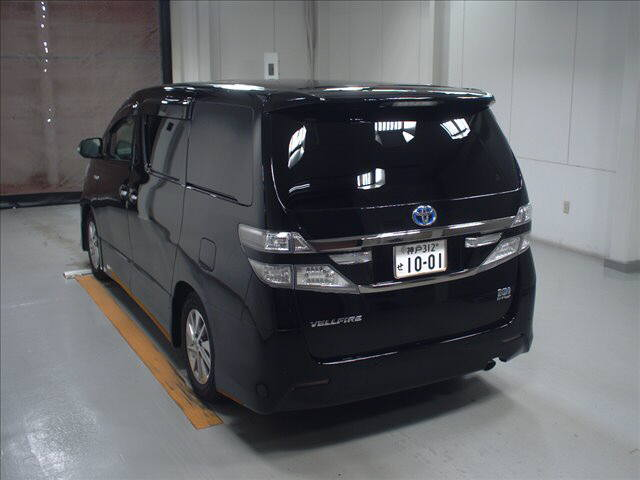 2012 Toyota Vellfire Hybrid ZR auction rear