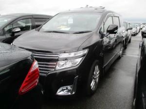 2011 Nissan Elgrand E52 VIP 2WD 3.5L left front