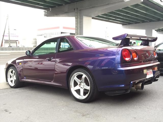 2000 R34 Gtr Midnight Purple 3 Available Garage Defend