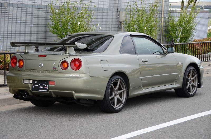 343k 2002 R34 Gtr Vspec2 Nur Millenium Jade 9 600 Km Prestige