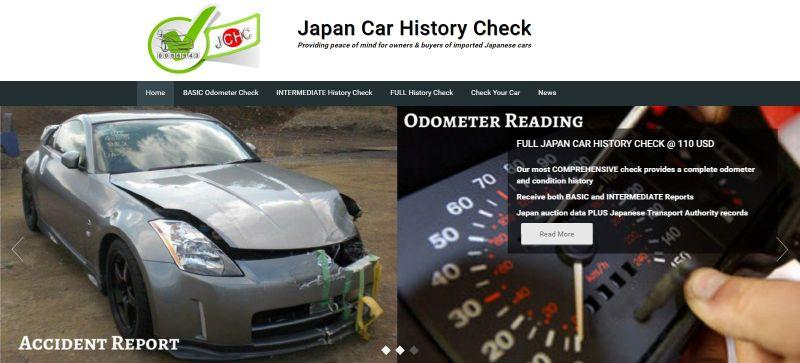 Japan Car History Check service