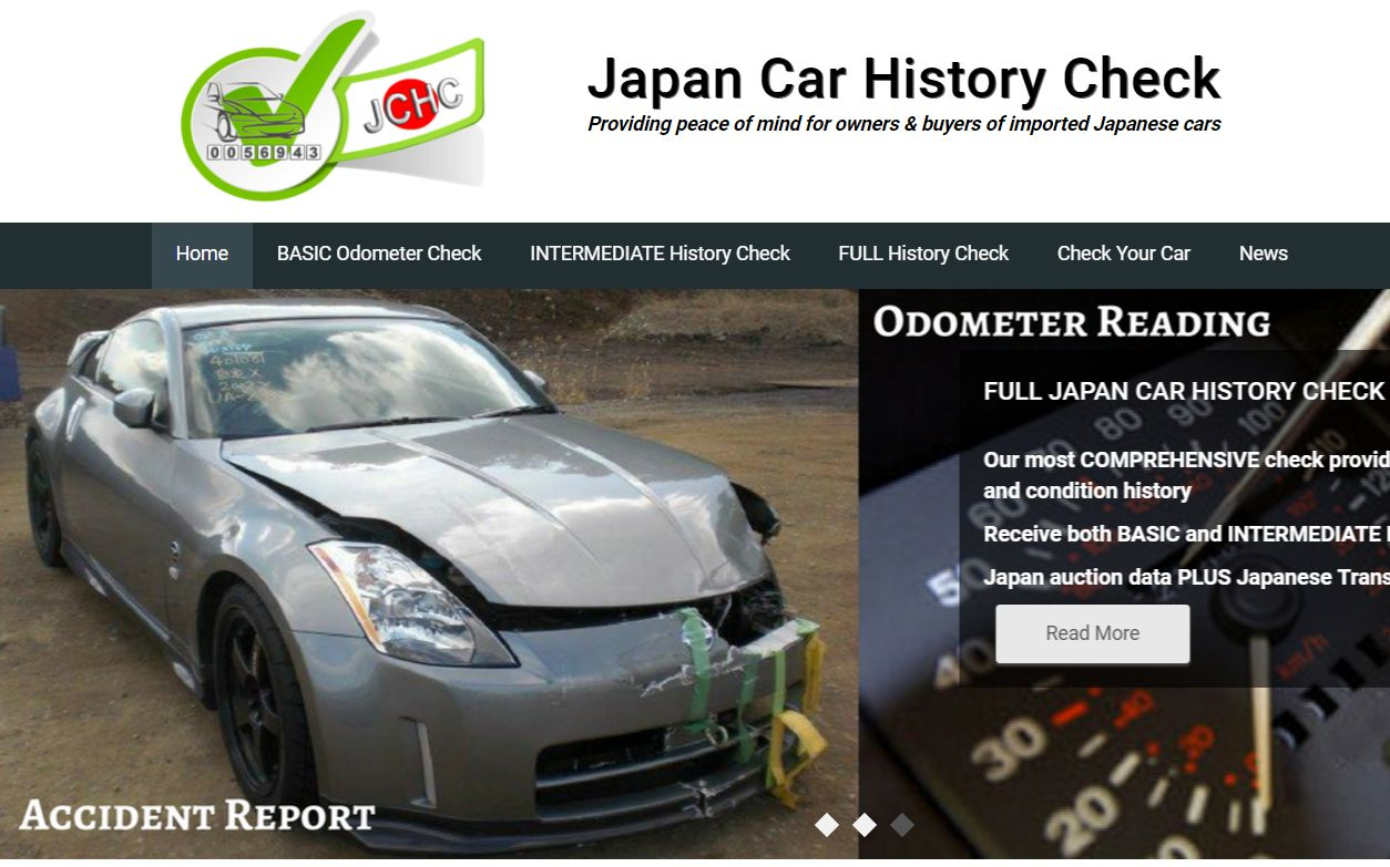 FULL Japan Car History and Japanese Odometer Check Service