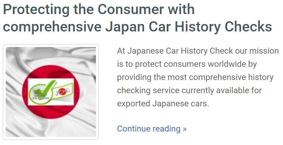 japan car history protection