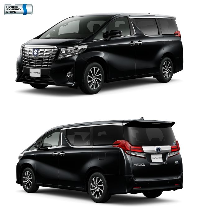 New Alphard Amp Vellfire 30 Series Hybrids Order Now