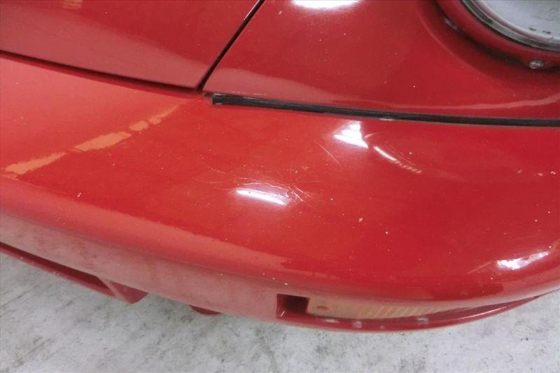 1981 Porsche 911 coupe bumper crack