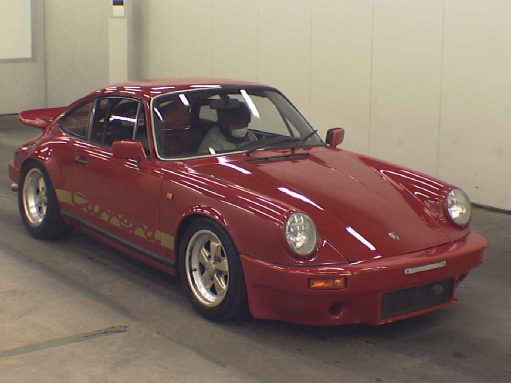 1981 Porsche 911 coupe front