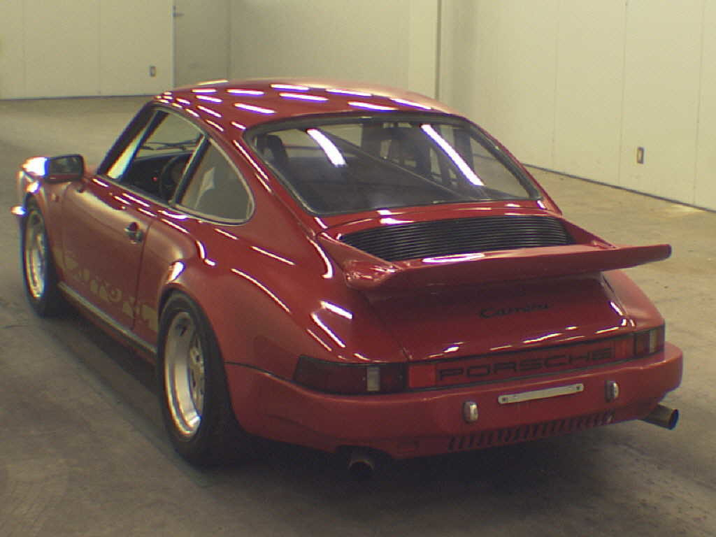 1981 Porsche 911 coupe rear auction