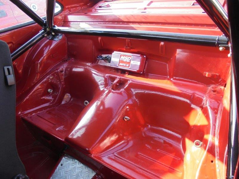 1981 Porsche 911 coupe rear seat