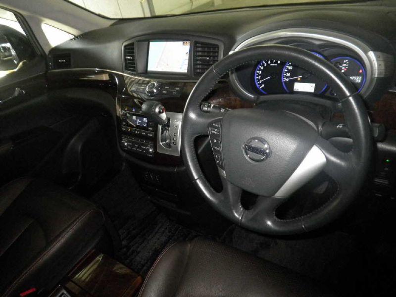 2011 Nissan Elgrand 350 E52 Highway Star Premium 2WD 3.5L auction interior