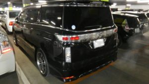 2011 Nissan Elgrand 350 E52 Highway Star Premium 2WD 3.5L left rear