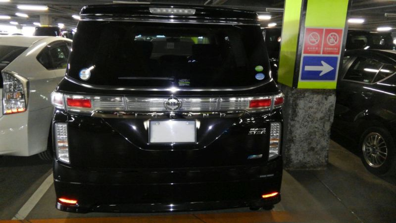 2011 Nissan Elgrand 350 E52 Highway Star Premium 2WD 3.5L rear