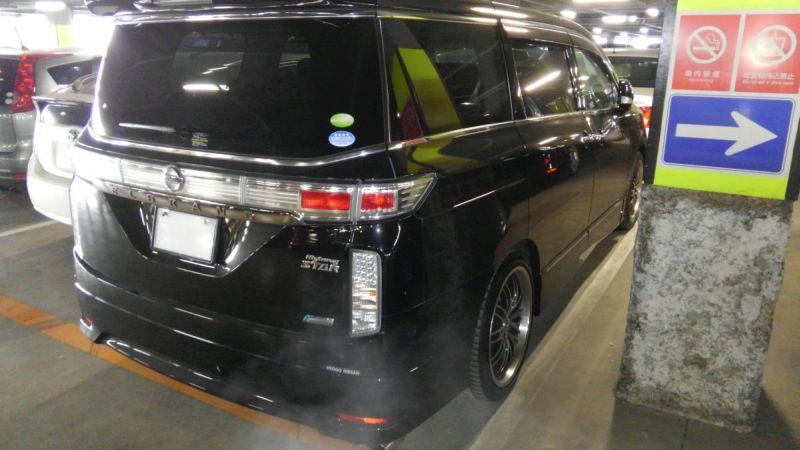 2011 Nissan Elgrand 350 E52 Highway Star Premium 2WD 3.5L right rear