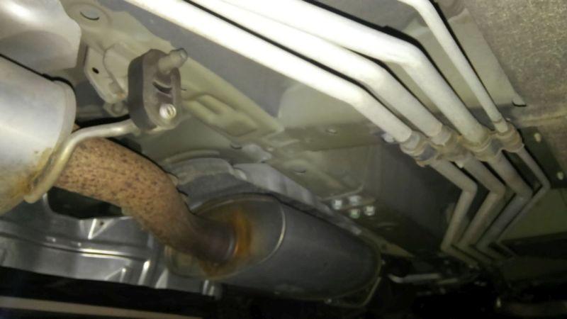 2011 Nissan Elgrand 350 E52 Highway Star Premium 2WD 3.5L underbody 5