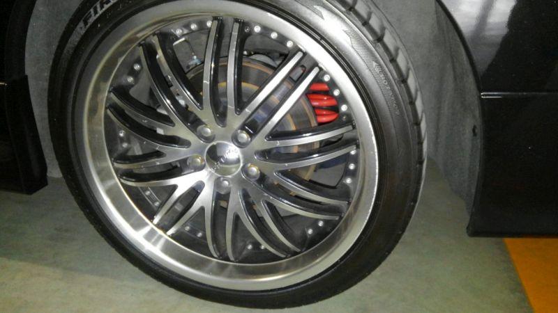 2011 Nissan Elgrand 350 E52 Highway Star Premium 2WD 3.5L wheel 1