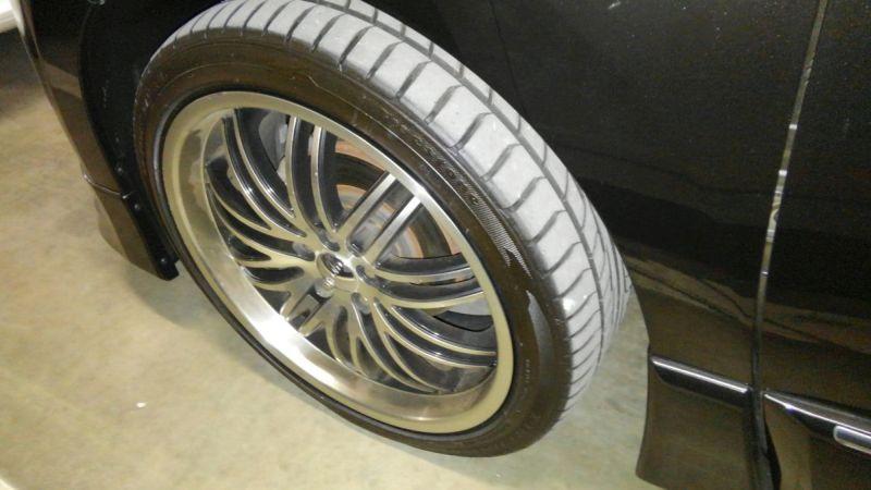 2011 Nissan Elgrand 350 E52 Highway Star Premium 2WD 3.5L wheel 2
