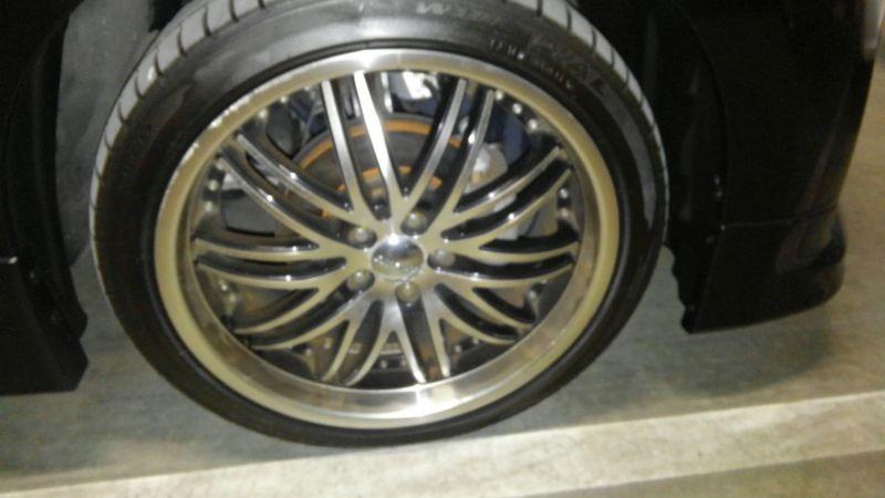 2011 Nissan Elgrand 350 E52 Highway Star Premium 2WD 3.5L wheel 3