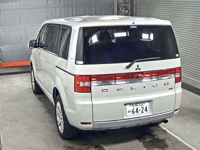 2016 Mitsubishi Delica D5 diesel CV1W 4WD auction rear