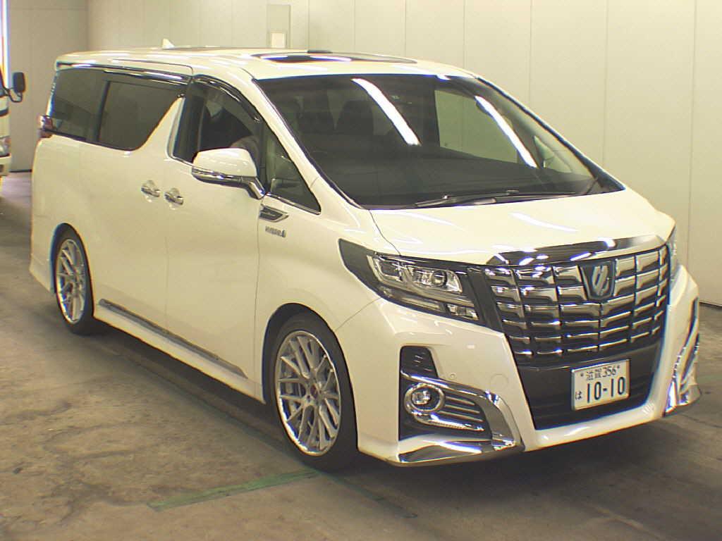 2015 Toyota Alphard Hybrid And Vellfire Hybrid
