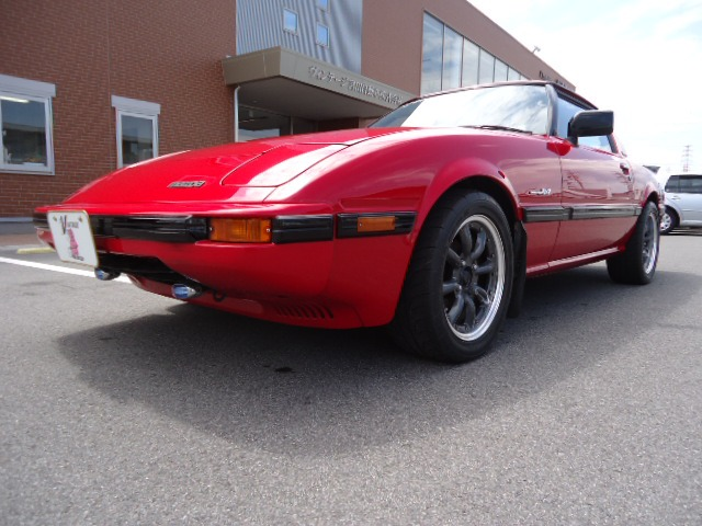1984 Mazda RX-7 Classic Car Inspection at Japan Vintage