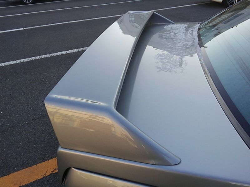 1987 BMW M3 E30 coupe boot spoiler
