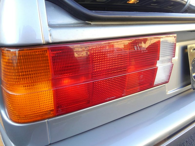 1987 BMW M3 E30 coupe left tail light