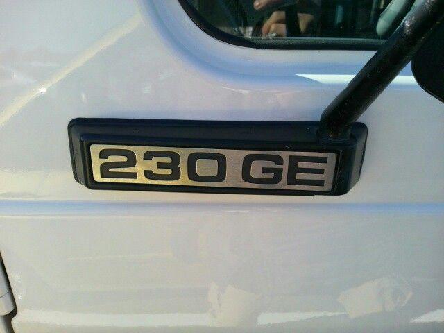 1987 Mercedes Benz 4WD 230GE Gelandewagen 32