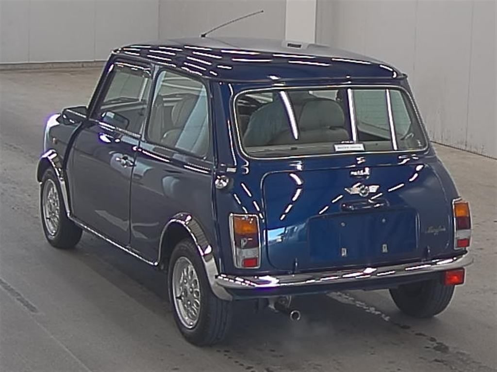 1999 Rover Mini Cooper auction rear