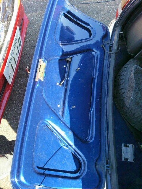 1999 Rover Mini Cooper boot lid