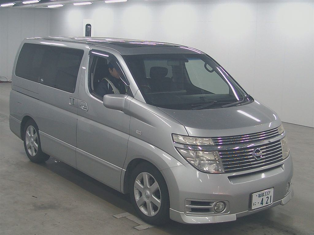 2003 Nissan Elgrand E51 Highway Star 2WD auction 1