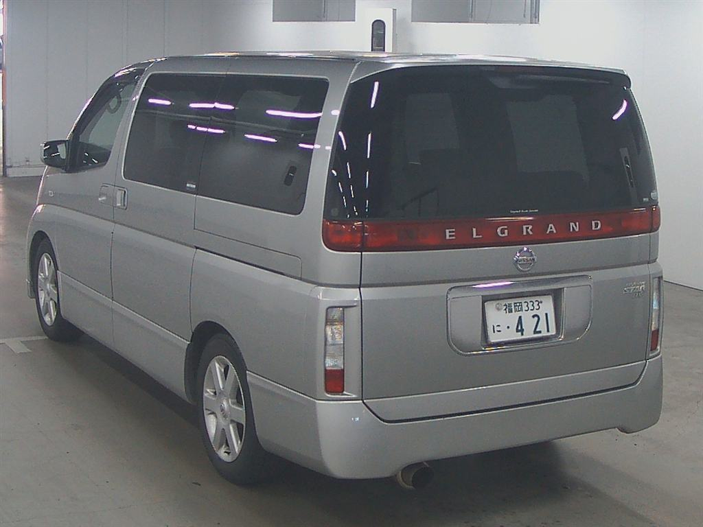 2003 Nissan Elgrand E51 Highway Star 2WD auction 2