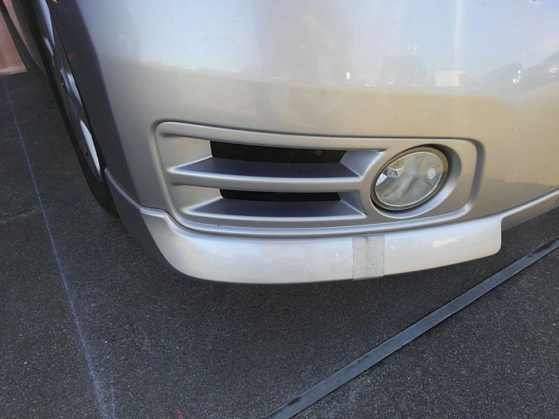 2003 Nissan Elgrand E51 Highway Star 2WD front bumper