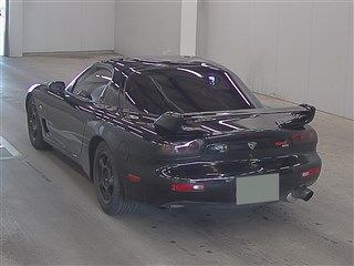 1992 Mazda RX-7 Type RZ lightweight sports model auction rear