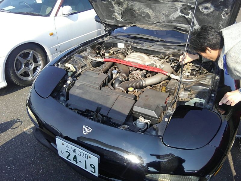 1992 Mazda RX-7 Type RZ lightweight sports model engine bay