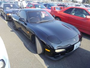 1992 Mazda RX-7 Type RZ lightweight sports model right front