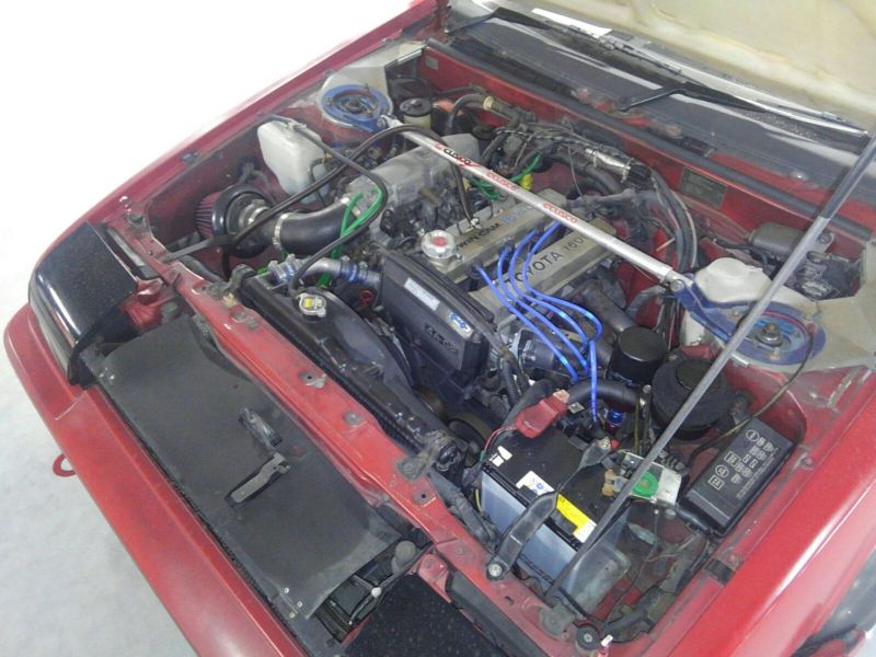 1985 Toyota Sprinter GT APEX AE86 engine 2