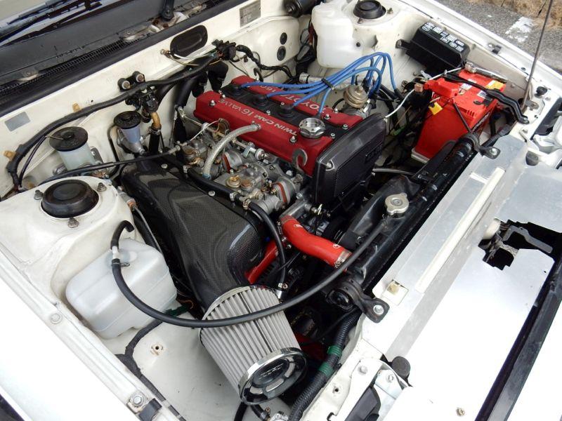 1985 Toyota Sprinter Treuno AE86 GT APEX engine