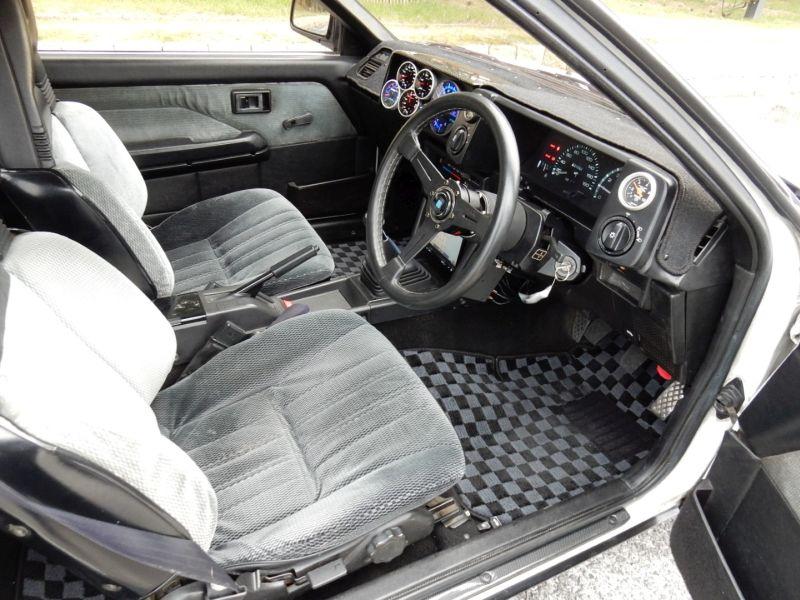 1985 Toyota Sprinter Treuno AE86 GT APEX interior