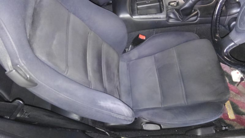 1992 Mazda RX-7 Type R driver seat