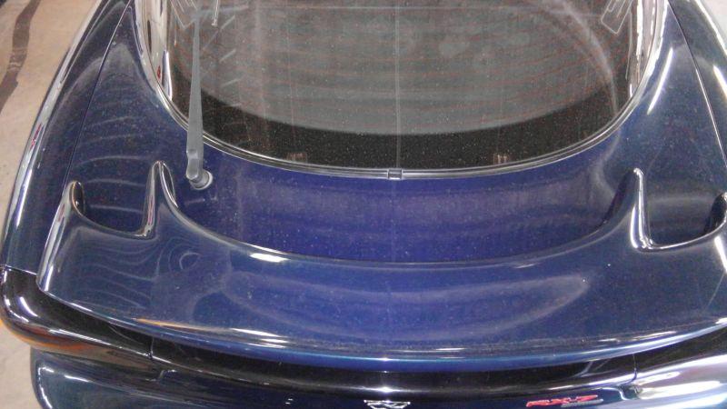 1992 Mazda RX-7 Type R rear spoiler