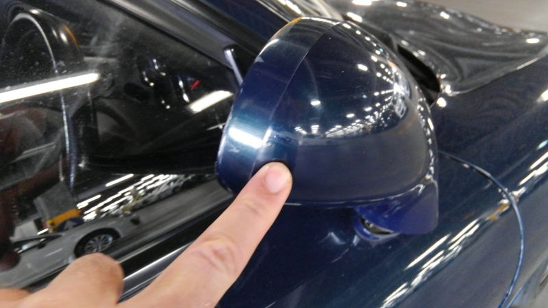 1992 Mazda RX-7 Type R side mirror
